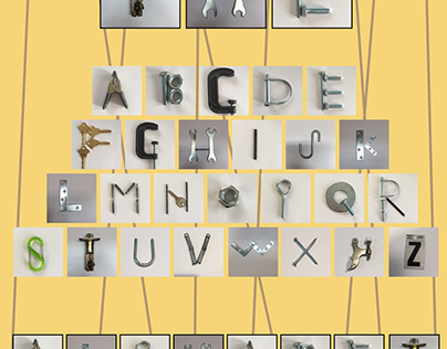 """Nuts and Bolts"" Alphabet"