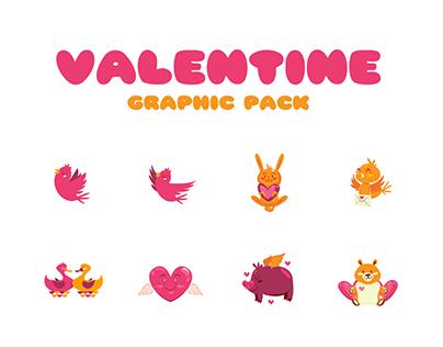 Valentine Graphic Pack