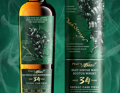 Peat's Beast 34 Year Old Single Malt
