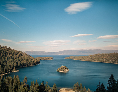 A Day At Lake Tahoe (California)