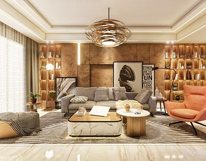 A Living Room - Interiors