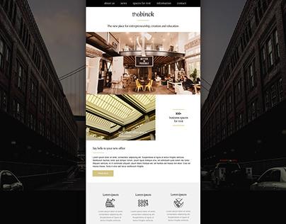 The Binck E-mail Template Design