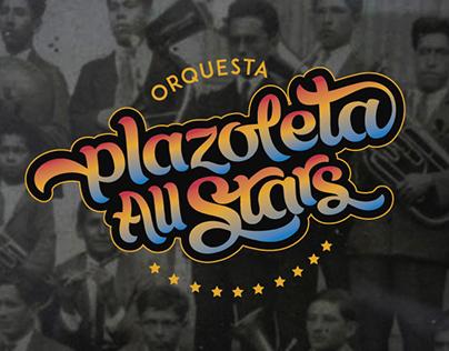 Branding Orquesta Plazoleta All Stars