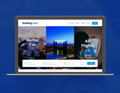 Booking website redesign