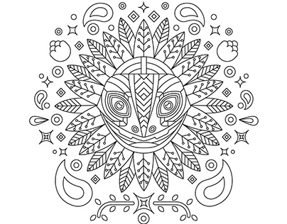 Alebrijes | Coloring Book