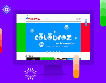 MONTREAL 375 — Branding + Website + Mobile App