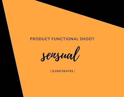 Sensual functional shoot