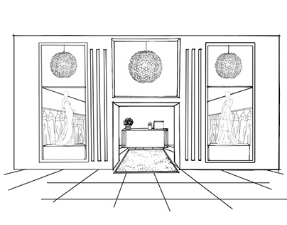 Storefront Sketches