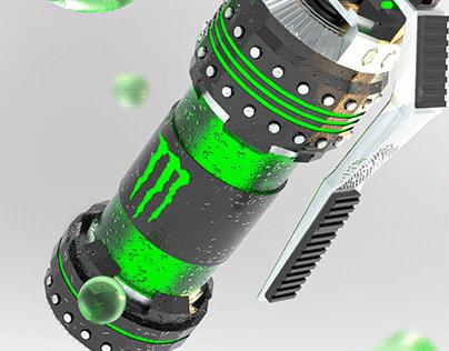 Monster Energy / Granada 3d