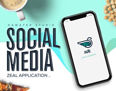Social Media - zeal