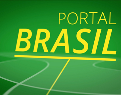 Identity and Graphic Package - Portal Brasil