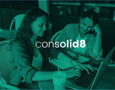 Consolid8 - Naming and Visual Identity