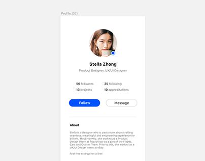 Daily UI 006_Profile