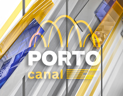 Porto Canal - Tv news set design