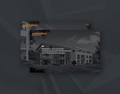 Gaus & Knödler Architekten // Branding