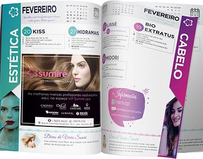 Revista de Cursos Fevereiro e Março 2018- Sumirê Lapa