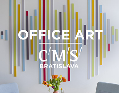 CMS~CMNO | sound wave signature OFFICE ART