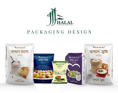 Packaging Design for Halal Foods Ltd.