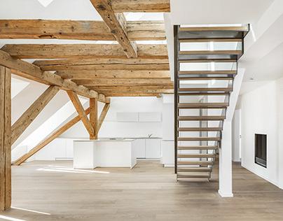 Luxury attic maisonette flat - Munich