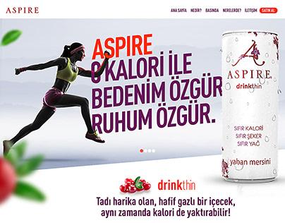 Aspire | Website