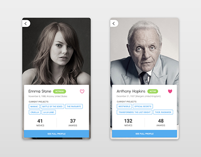 Daily UI Challenge #006 - Profile page