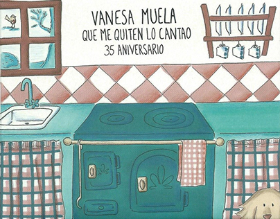 CD booklet. Folk Music. Vanesa Muela