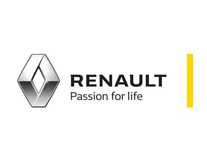 Animações HTML5 Renault