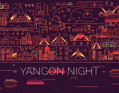Yangon Night