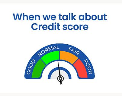 Credit score explainer video