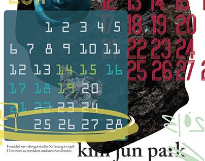 Kim Jun Park inspired poster