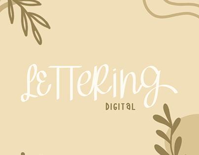 Digital Lettering #1