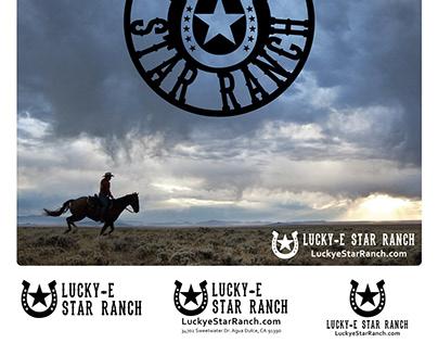 Lucky-e Star Ranch | Logo Design