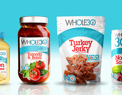 Whole 30 Packaging Style Guide