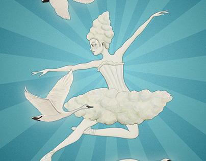 Cloud Ballerina Costume