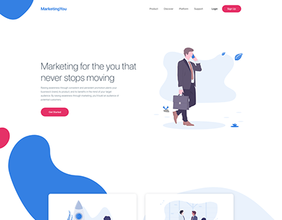 Marketing Landing Page - Concept