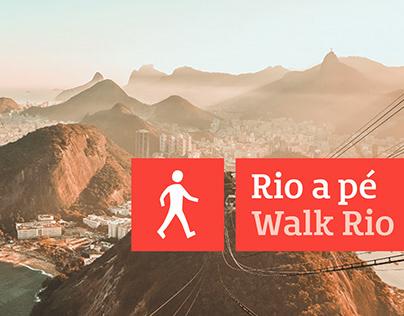 Rio a Pé (Walk Rio) | Wayfinding