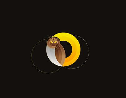 Golden Ratio Owl Logo