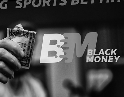 LOGO Black Money- sports betting