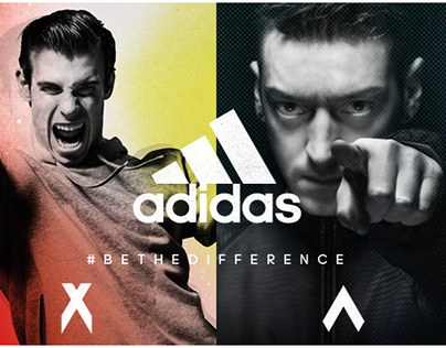 ADIDAS #BETHEDIFFERENCE