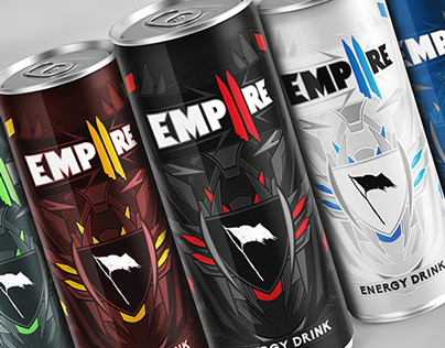EMPIIRE Energy Drink - Branding