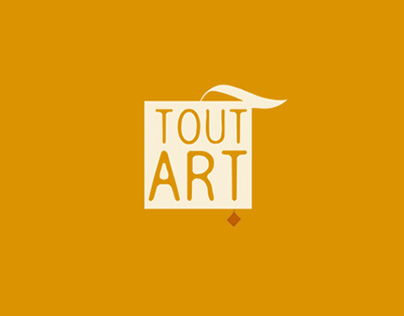 Redesign Tout'Art Brand Identity + web