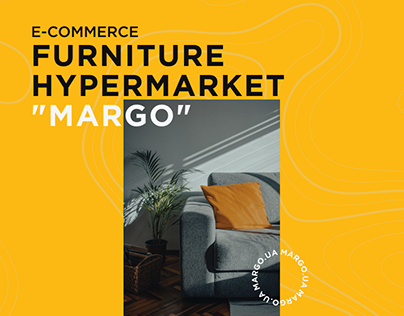 """Redesign and revisions Furniture online store """"MARGO"""""""