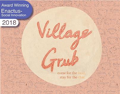 Village Grub// Branding & Packaging