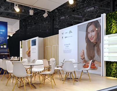 Exhibition stand design Fabios ╳ Fcase ╳ ZVT / 2018