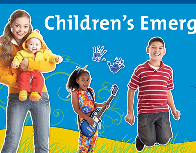 18-ft wide outdoor banner for Legacy Hospitals