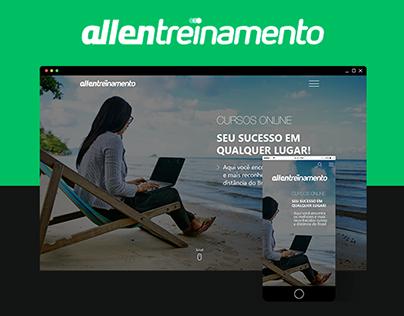 Novo Site da Allen Treinamento