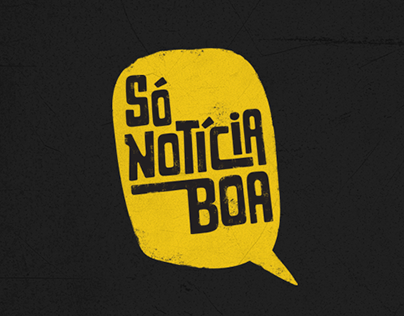 SÓ NOTÍCIA BOA Visual Identity
