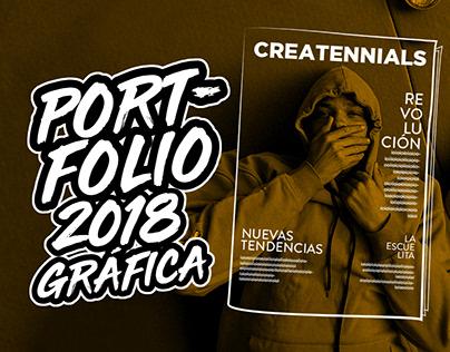 Portfolio 2018 - Gráfica