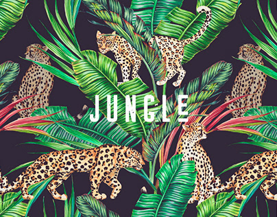 Luxury Exotic Jungle Prints, Patterns