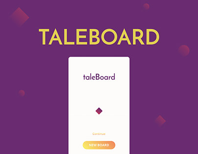 Taleboard app concept